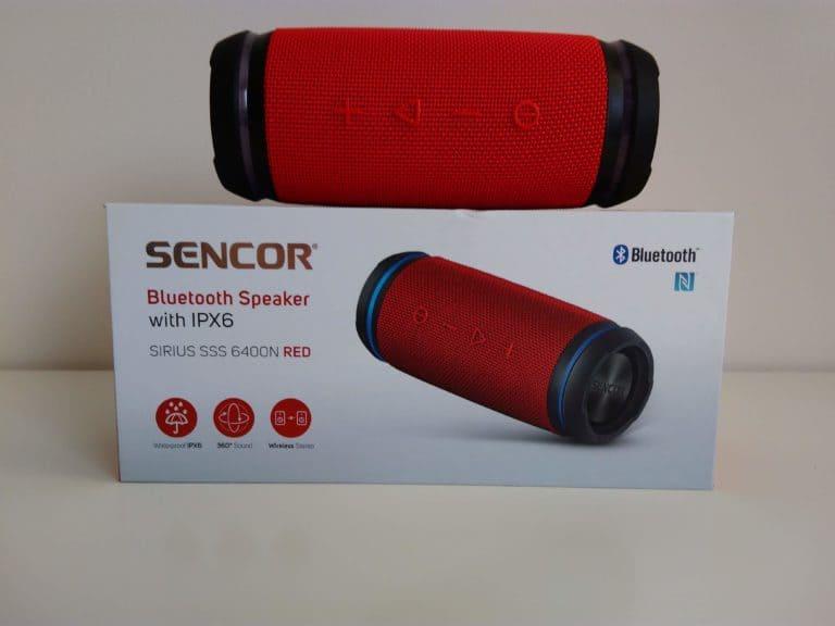 Sencor SSS 6400N, bluetooth reproduktor Sencor SSS 6400N, prenosný repdoruktor Sencor SSS 6400 N