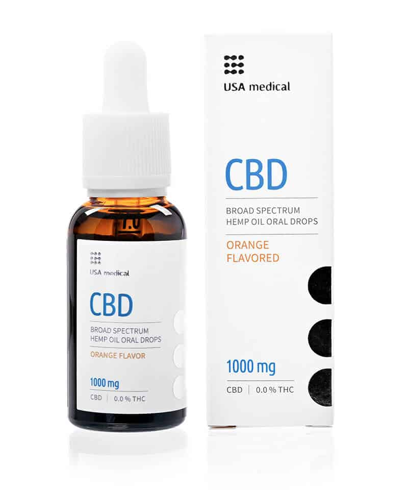 CBD olej - Usamedical