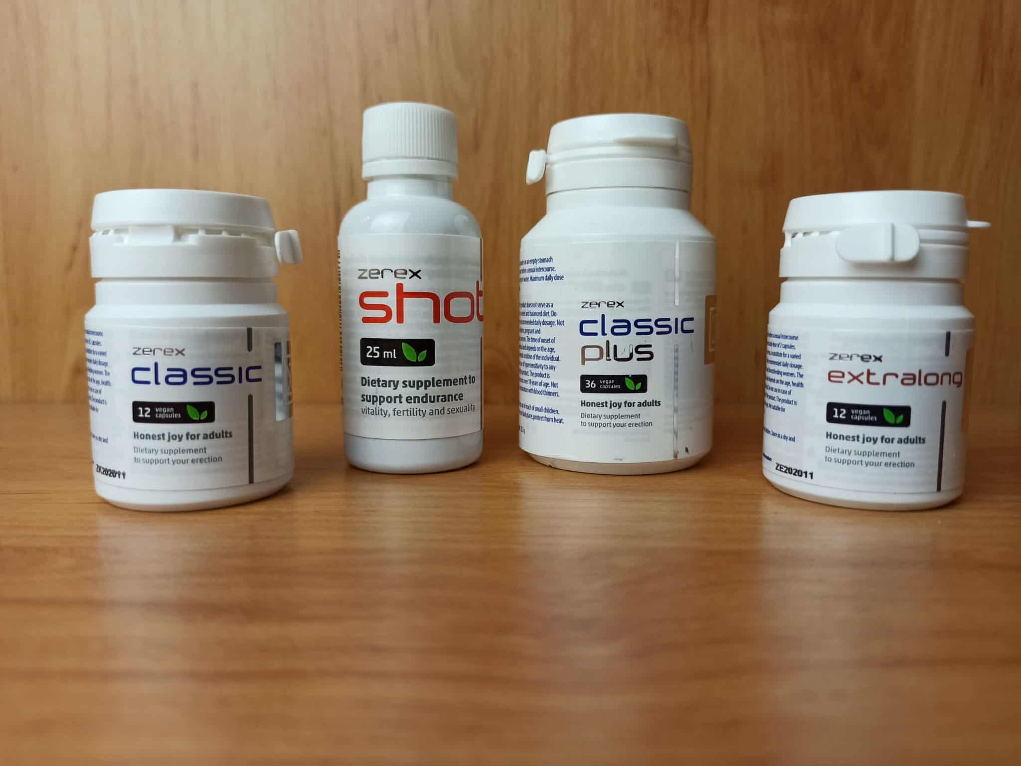 Zerex Klasik, Zerex Extralong, Zerex Shot, Zerex Klasik Plus
