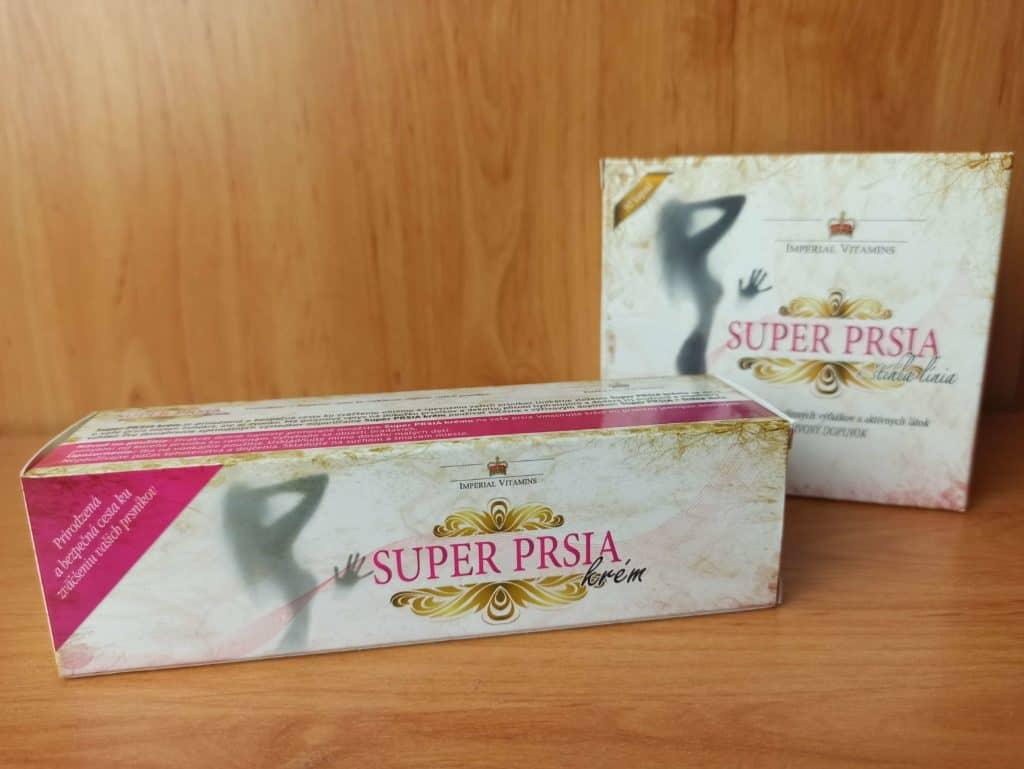 Super prsia + štíhla línia a Super prsia krém