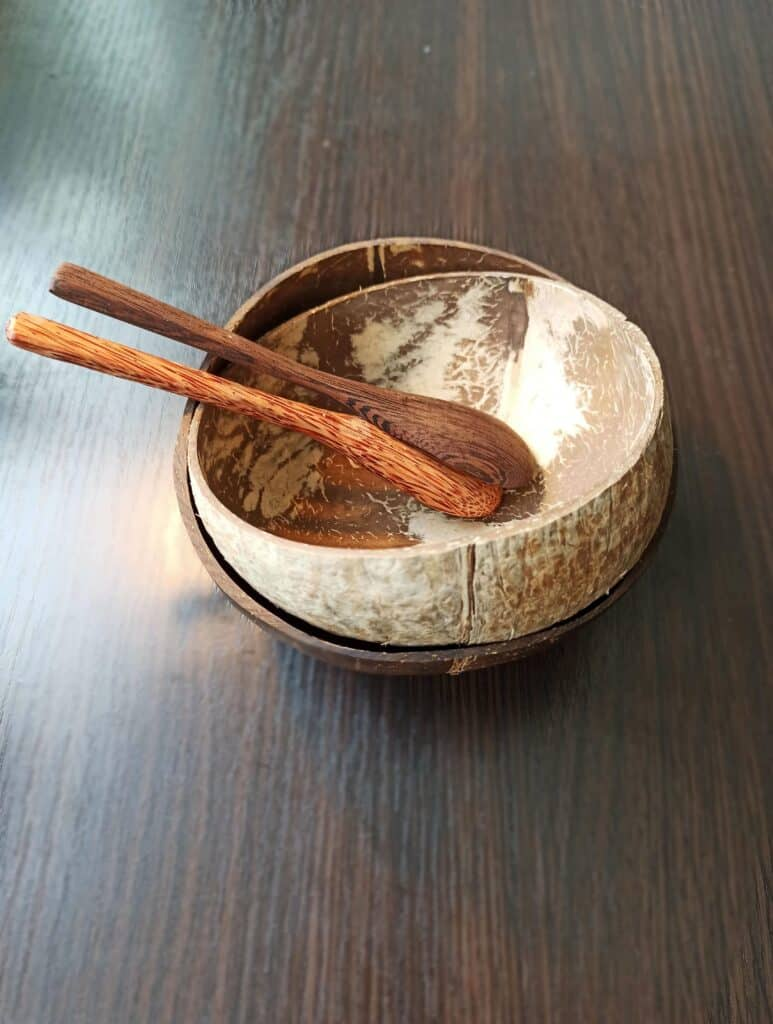 Kokosové misky a kokosové príbory zkokosu.cz